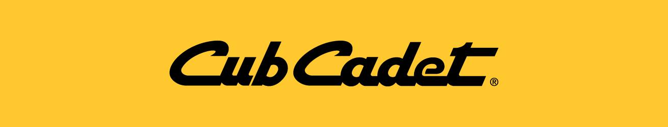 Cub Cadet Profesyonel Çim Bakım Ürünleri Logo Banner