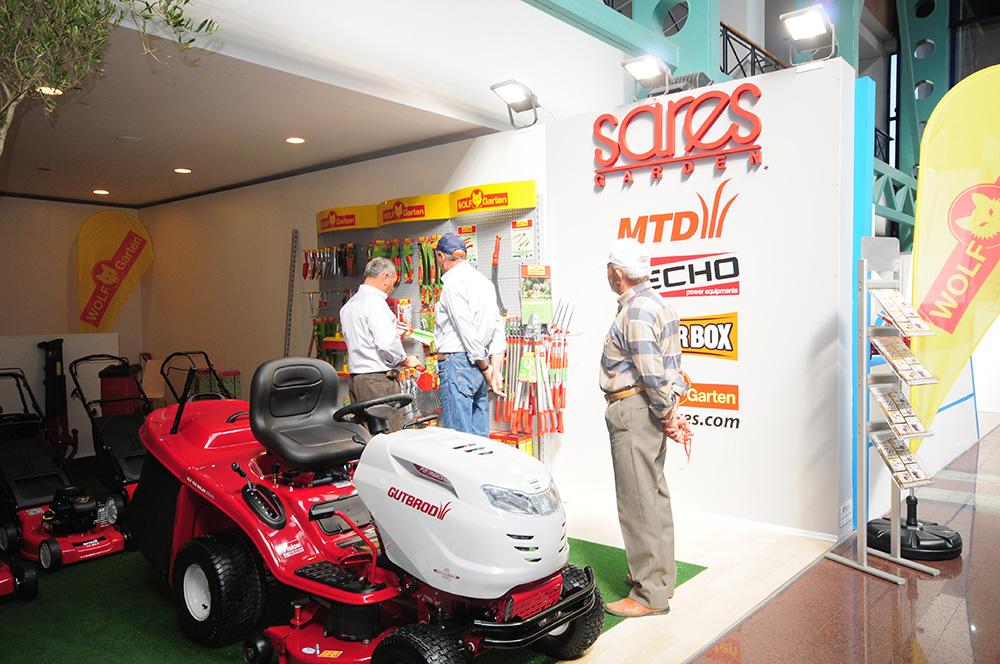 2011 Bursa Tarım Fuarı'nda WOLF-Garten ve Gutbrod Ürünleri
