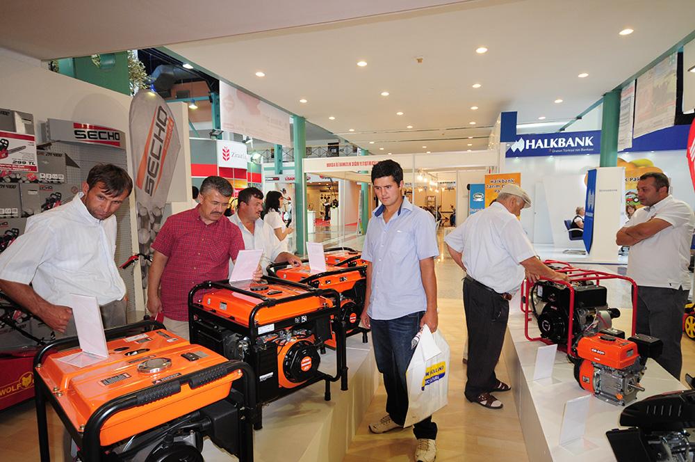 2011 Bursa Tarım Fuarı'nda Secho ve Powerbox Ürünleri