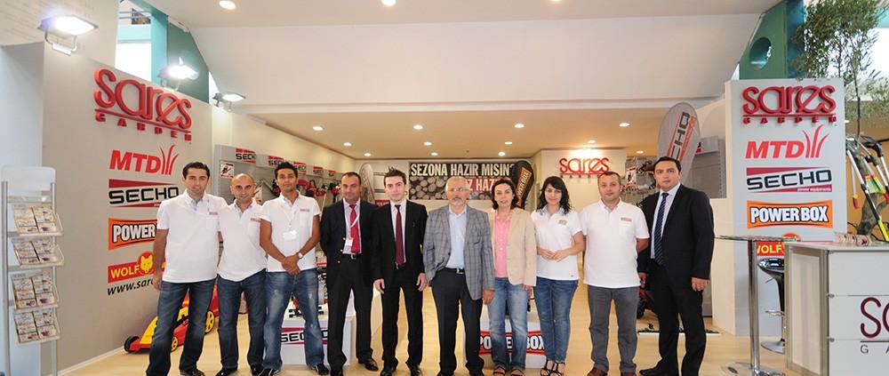 2011 Bursa Tarım Fuarı'nda Sares Ekibi