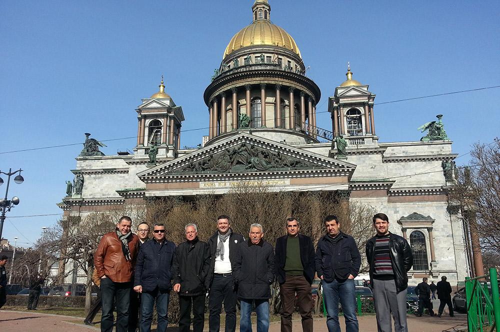Sares 2013 Rusya St.Petersburg Gezisi